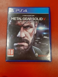 Metal Gear Solid: Ground Zeroes pro PS4 použitá